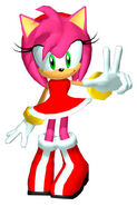Sonicheroes amyrose early