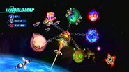 World Map Sonic Colors