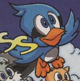 Flicky Sonic X comic