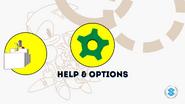 S22013 main menu HELP & OPTIONS