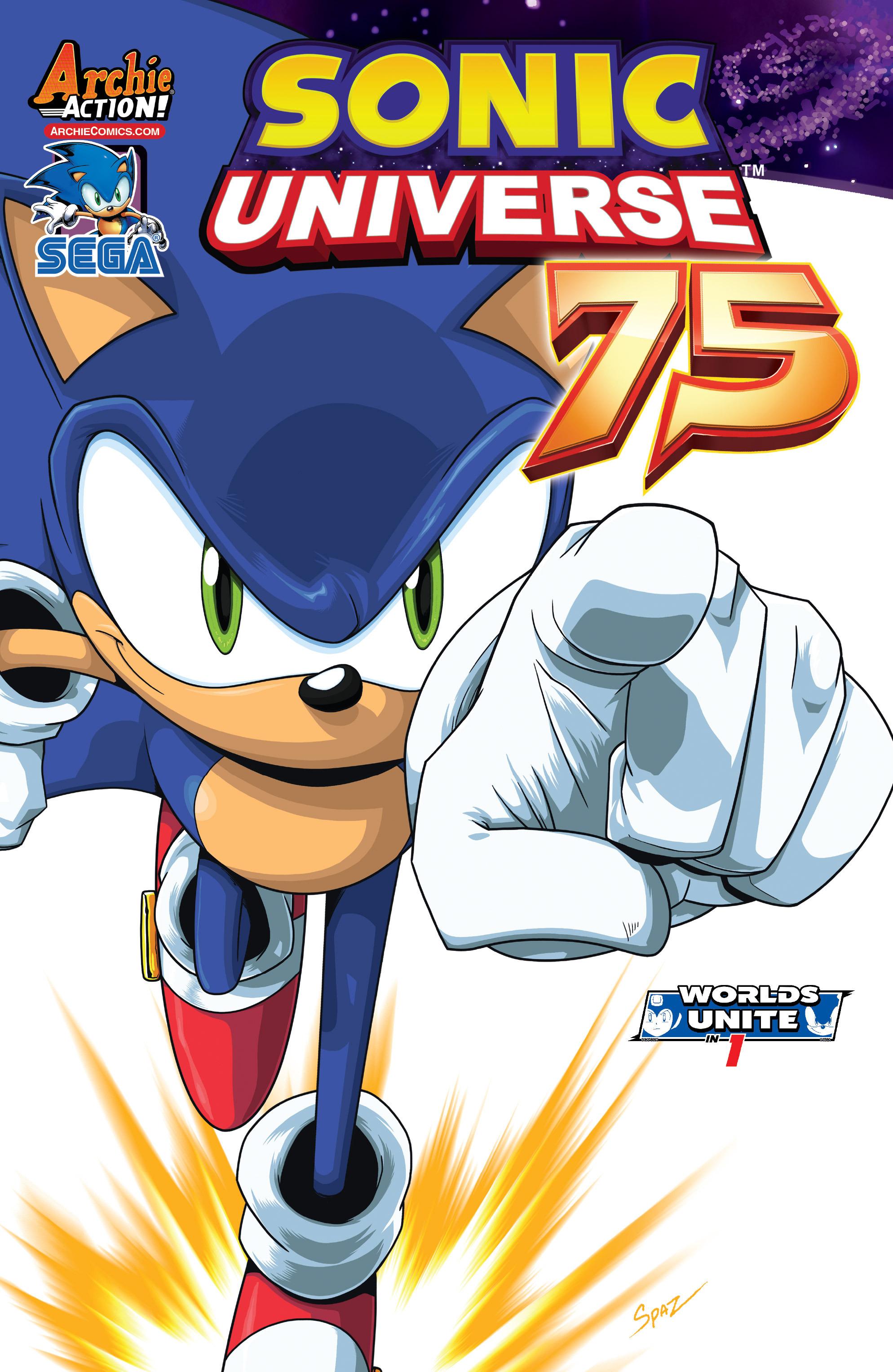 Sonic Universe #75 Jonathan Gray Var   NEW!!!