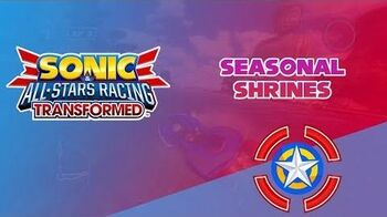 Seasonal Shrines - Sonic & All-Stars Racing Transformed