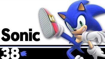 Sonic – Super Smash Bros