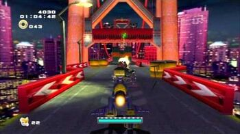 Sonic Adventure 2 (PS3) Mission Street Mission 2 A Rank