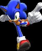 Sonic Rivals Sonic art