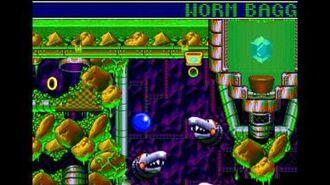 Sonic Spinball (Genesis)- Gameplay