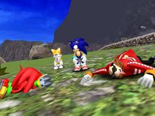 SADX Super Sonic story intro