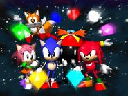 Sonic R - Ending Screen