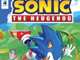 IDW Sonic the Hedgehog N° 004