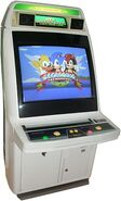 SegaSonic arcade machine