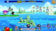 Sonic Runners Shadow Gameplay