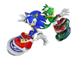 Sonic and Jet