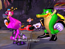 Chaotix good job