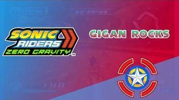 Gigan Rocks - Sonic Riders Zero Gravity