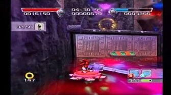 Shadow the Hedgehog Stage 6-2 Black Comet (Dark Mission no com)