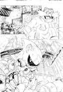 Sonic 4 - Episode 2 adaptation pencils