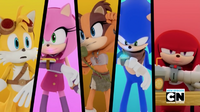 Team Sonic communicating