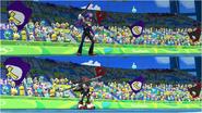 Mario & Sonic at the Rio 2016 Olympic Games - Waluigi VS Shadow Javelin Throw