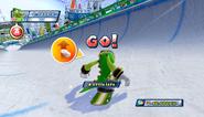 Mario Sonic Olympic Winter Games Gameplay 135
