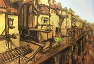 Rooftop Run Concept Art 4