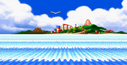 Sonic Advance 2 island