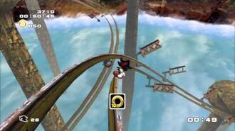 Sonic Adventure 2 (PS3) Sky Rail Mission 5 A Rank