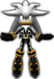 Sonic Rivals 2 - Silver the Hedgehog costume 3