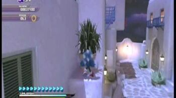 Sonic Unleashed DLC (Night) Windmill Isle Act 1-2