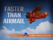 Faster Than Airmail