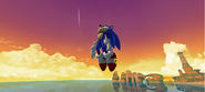 Sonic Dash a tarde