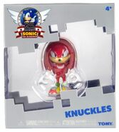 Tomy Sonic 25th Anniversary figure Knuckles
