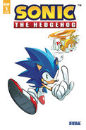 IDW Sonic 1 3rd Print