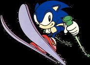 Skiing Sonic 1998