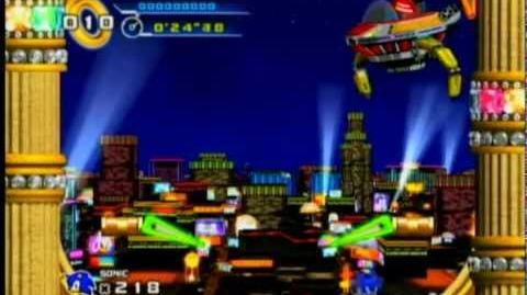 Sonic 4 - Casino Street Boss - Dr. Eggman's Party