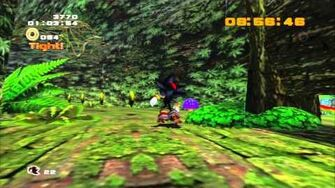 Sonic Adventure 2 (PS3) White Jungle Mission 1 A Rank