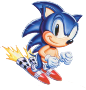 Sonic in S. Chaos