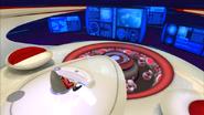 Eggman has sofa on his navigation bridge