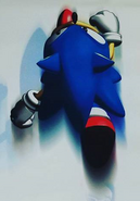 Sega Calendar 1998 - Nov Dec Sonic