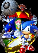 Sonic CD art