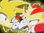 Super Shadow vs Super Sonic