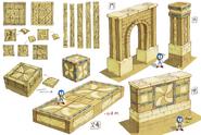 Desert Ruins koncept 2