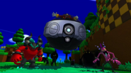 Eggman i Deadly Six