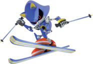 Mario & Sonic (2009) - Skiing