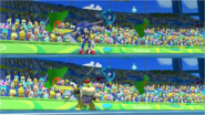 Mario & Sonic at the Rio 2016 Olympic Games - Sonic VS Bowser Jr. Javelin Throw