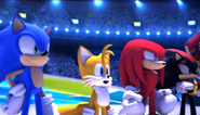 Mario Sonic Olympic Winter Games Festival Mode Opening 7