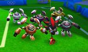 Mario Sonic Rio 3DS Gameplay 547