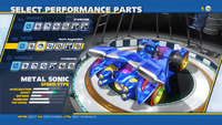 Metal Sonic Haste Augmenter Rear