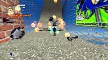 Sonic Adventure 2 (PS3) City Escape Mission 5 A Rank
