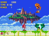 Sky Sanctuary Zone (Sonic & Knuckles)