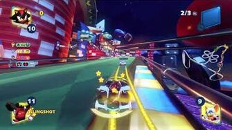 Team Sonic Racing Roulette Road (Shadow) 1080 HD